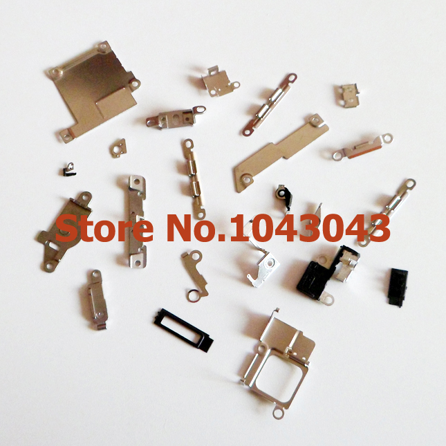 Original New 22 in 1 22pcs/Set Bundle Inner Small Parts Fastening & Brackets For iPhone 5S