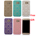 Phone Cases For Samsung Galaxy S4 S5 S6 S7 Edge A3 A5 A7 Retro Damask Pattern