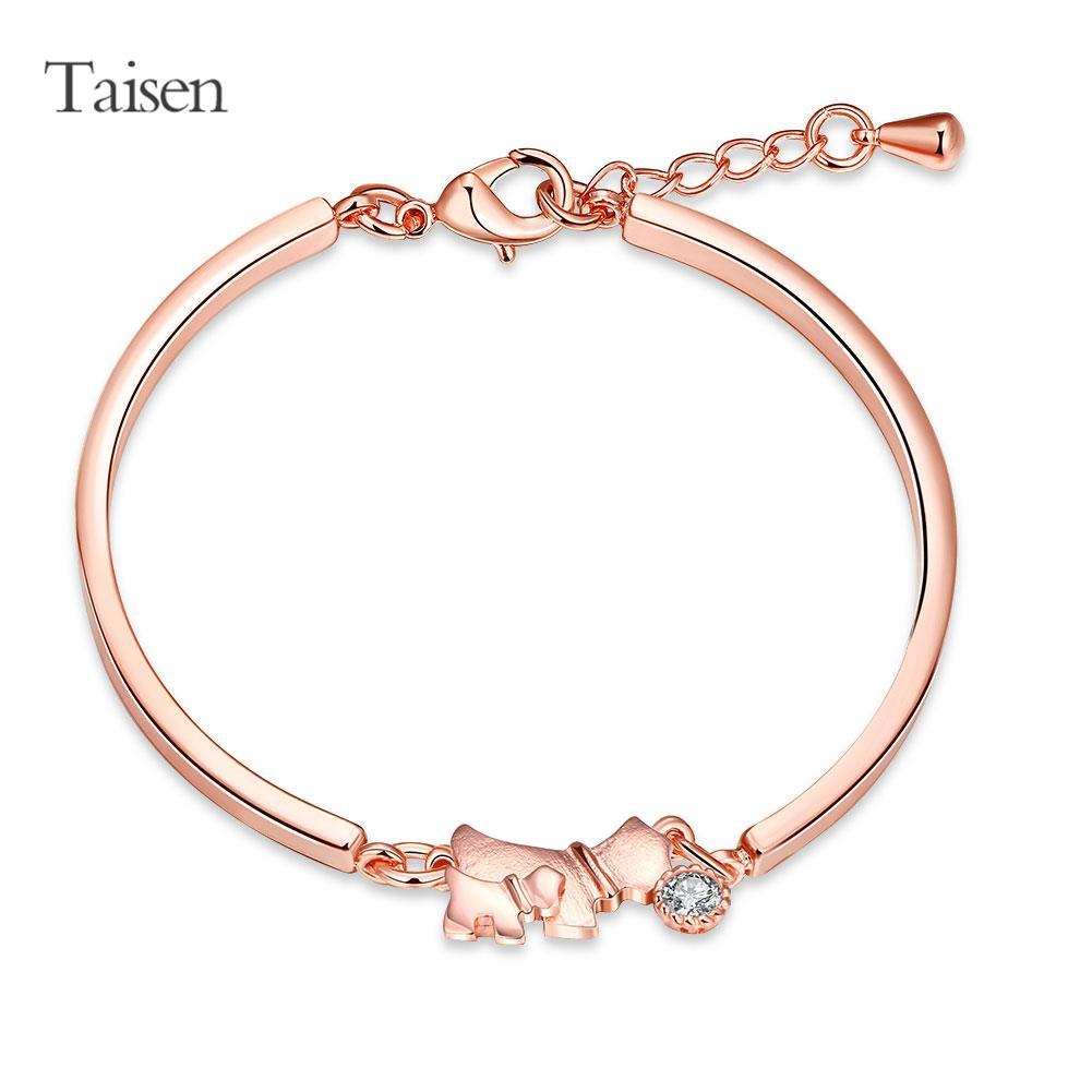 2016 new fashion fine rose gold bracelet women jewelry lucky dog bracelets female bracelet & bangle gift for girl friend(China (Mainland))