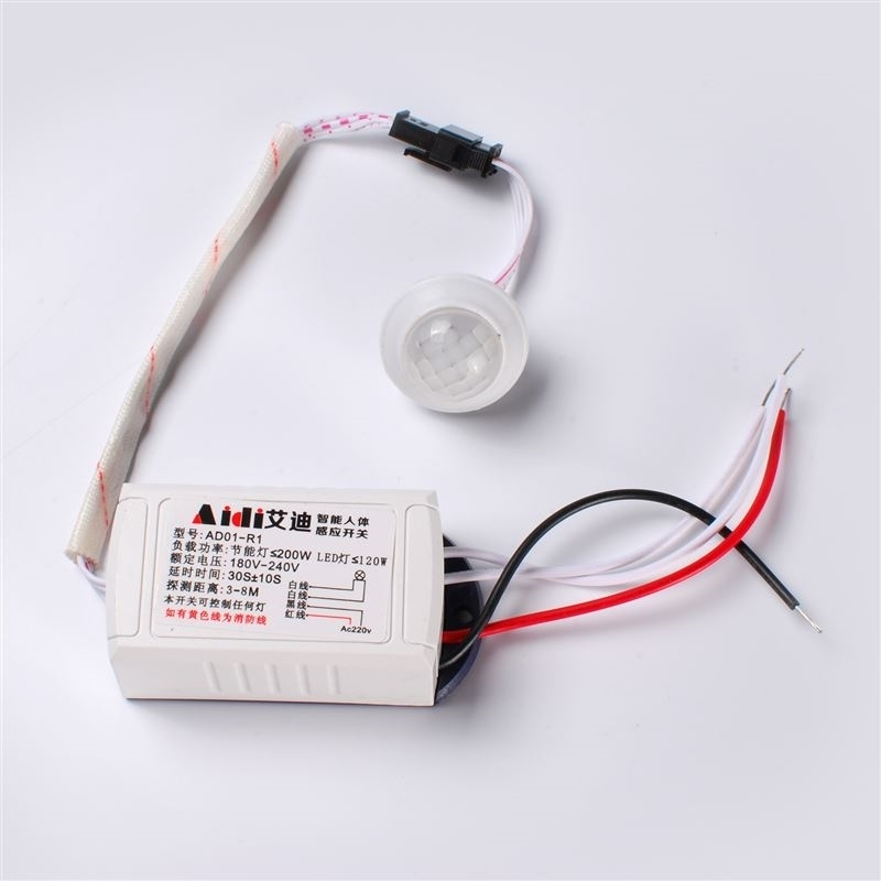 High Quality 220v IR Infrared Module Body Intelligent Sensor Light Motion Sensing Switch