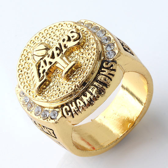 9.5(US) Mens Rings 24k ORO Gold Champions Luxury Fashion Solid Stainless Steel Men Ring Fine Jewelry Wholesale(China (Mainland))