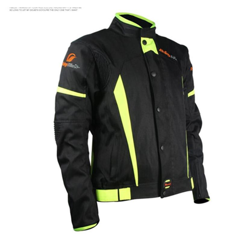 Съемный зима мотоцикле одежды мужской дамы костюмы гонки мотоодежда с водонепроницаемый протектор м-xxxxl