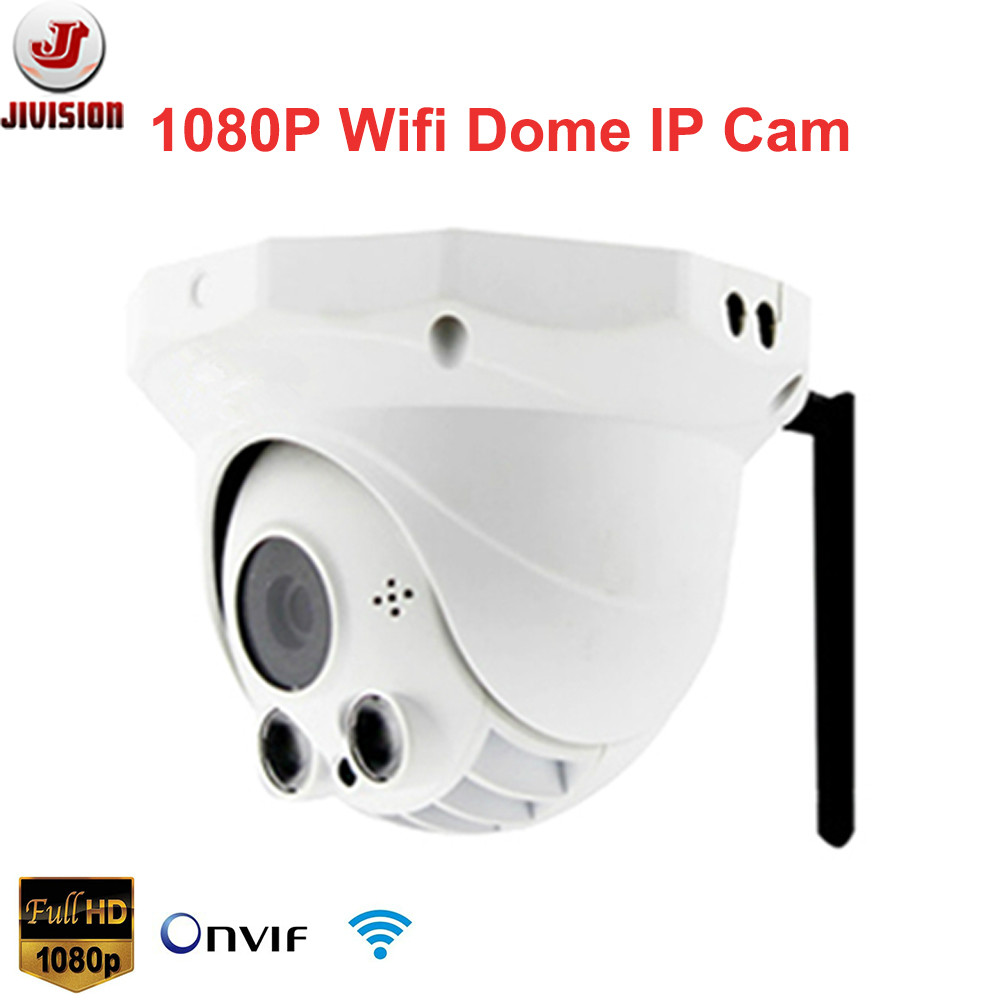 1920*1080P HD Wireless Dome IP Camera 2mp ONVIF IR Home Security IP Camera Wifi Camara IP Cam P2P Remote view by iphone android(China (Mainland))