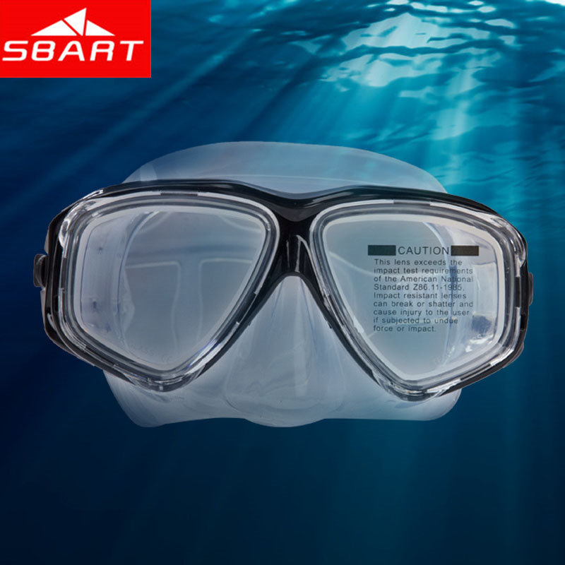 SBART Myopia Mask For Diving Silicone Tribord Easybreath Snorkeling Scuba Diving Mask Underwater Maske Mascara De Mergulho Hot O(China (Mainland))