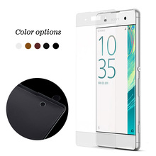Buy Full Coverage Tempered Glass Screen Film Protector Sony Xperia XA XA Dual F3111 F3113 F3115 F3112 F3116 Steklo for $7.20 in AliExpress store