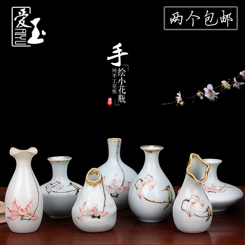 Fresh Mini Ceramic Small Vase Home Decor Gift Ideas And: Decorating Ideas Vases Promotion-Shop For Promotional