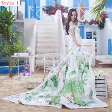 2016 new product natural fiber material quilt very comfortable soft summer home textiles(China (Mainland))