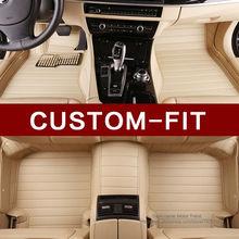 Custom fit car floor mats for Volvo C30 S40 S60L S80L V60 XC60 XC90 3D car-styling heavy duty carpet floor liners
