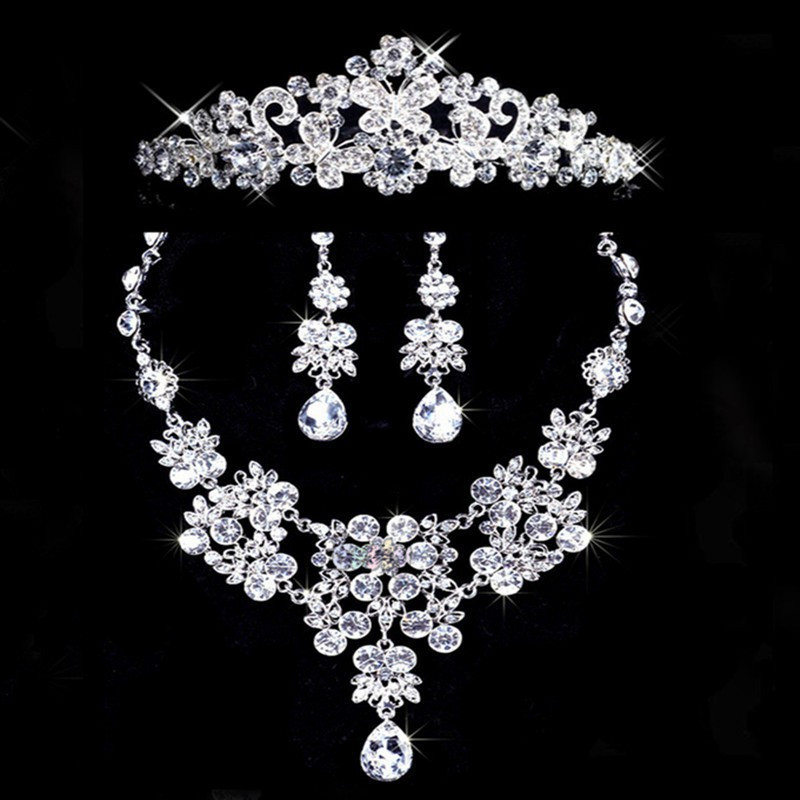 wedding accessories party jewelry sets j76 in jewelry sets from