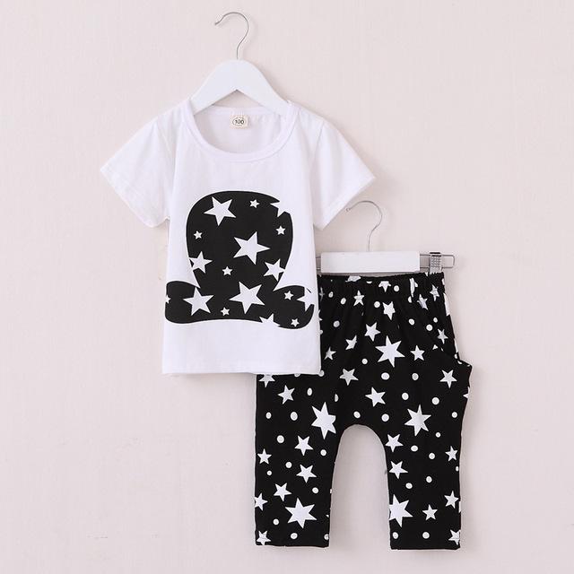 Хлопок мальчики девочки комплект одежды лето 2016 новая детская одежда для мальчиков ...