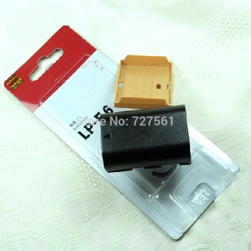LP-E6 LP E6 LPE6 Rechargeable Lithium Camera Battery Pack For Canon EOS 5D2 5D3 7D 6D 70D 60D Mark II III LC-E6E Batteries(China (Mainland))