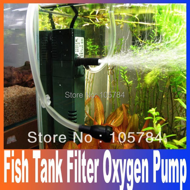 Mini Fish Tank Aquarium Filter Add oxygen submersible pump 110/220/240V Spray filter function and oxygen function Free Shipping(China (Mainland))