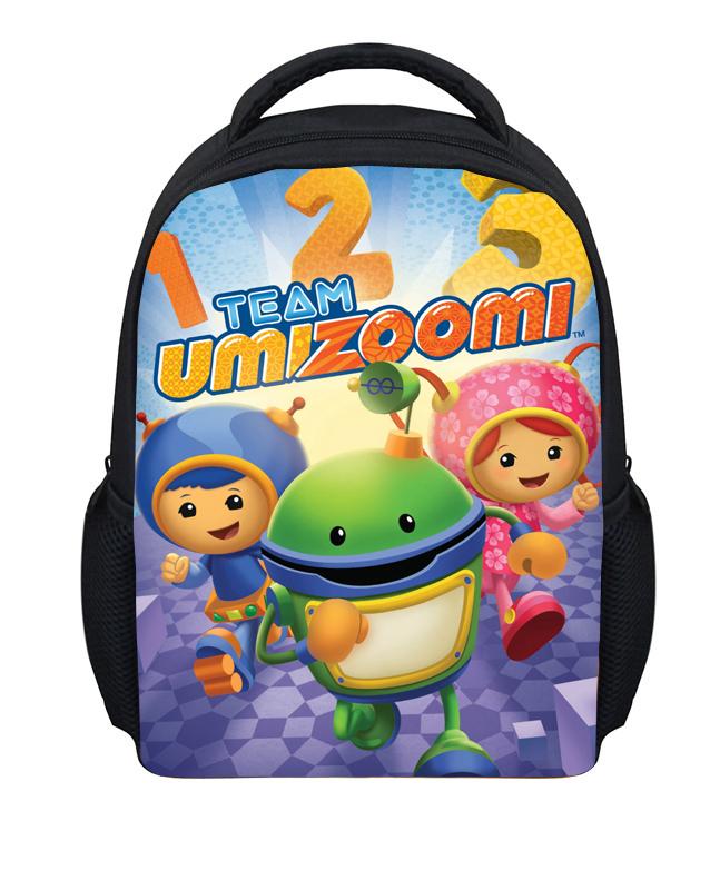 Small Cartoon Team Umizoomi Bag Children School Bags for Boys Little Child Schoolbag Toddler Baby Bookbag Kids Mochila Infantil(China (Mainland))