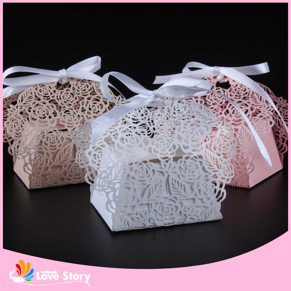 Laser Cut Candy Box Wedding Favor Box Party Favors Gift box Wedding ...