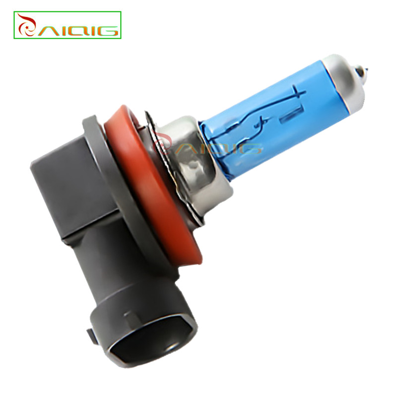 H8 35W Halogen Bulbs super white Headlights fog lamps day light running Car Light Source parking 6000K 12V High Power - GuangZhou YouCheng Trade Co., Ltd. store