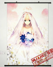 Home Decor Anime Japanese Poster Wall Scroll Fate/Zero SABER(90*60)-097
