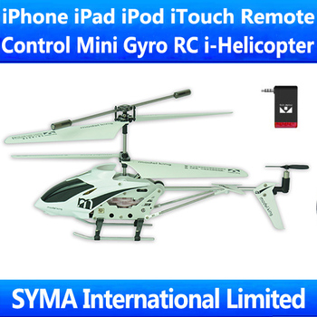 Super Deal Retail Box 3.5CH iPhone iPad iPod iTouch Remote Control RC i-Helicopter iHelicopter Gyro Mini Electric Helicopter