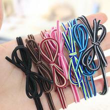 Charms Fashion Color Mixed Bows Elastic Hair Band Hairbands Headwear Hair Accessories for Women Girl