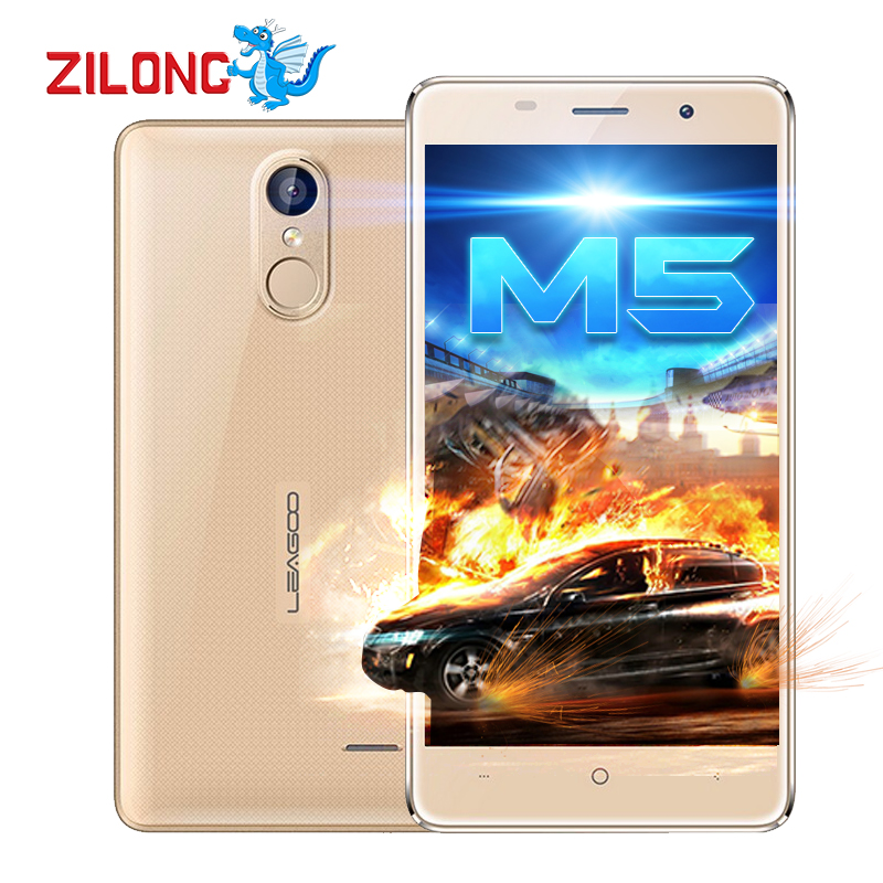 Original Leagoo M5 Shockproof Smartphone Android 6.0 5'' MTK6580 Quad Core 2GB+16GB Dual Sim GPS Fingerprint 3G Mobile Phone(China (Mainland))