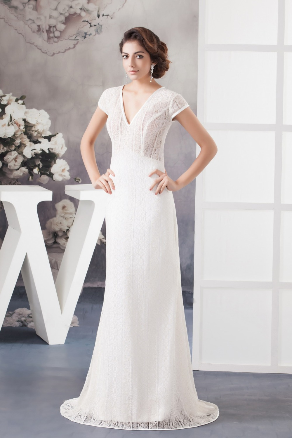 Wedding dresses for older brides cocktail dresses 2016 for Short sheath wedding dress