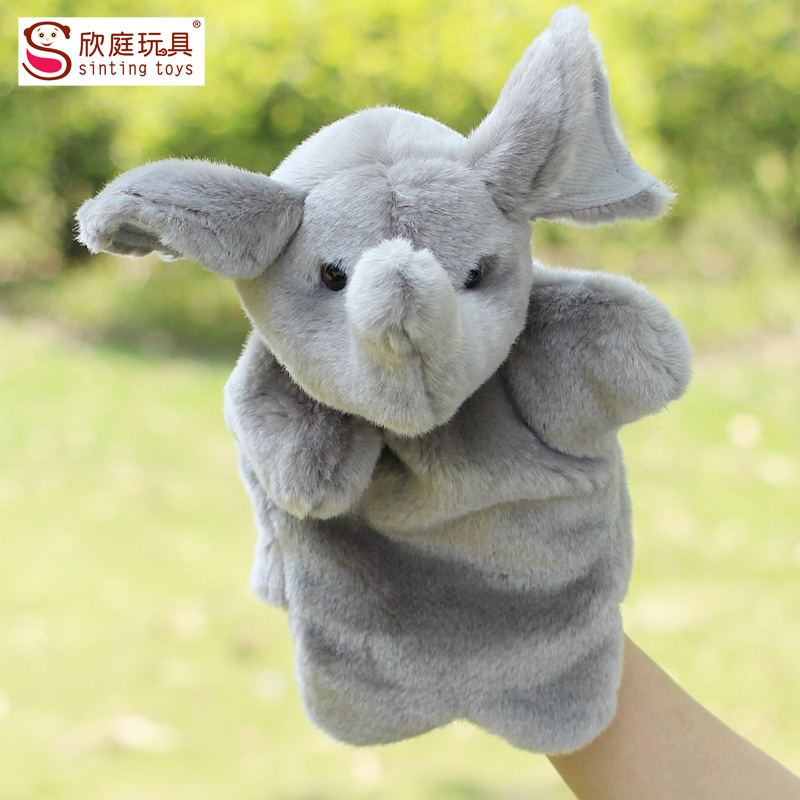 Elephant Hand Elephant Hand Puppet Toy
