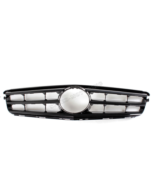 High quality ABS  2008-2014 C CLASS W204 SPORT GRILLE FRONT GRILL for BENZ  W204 C250 C300 C350 C180 C200 C280 Black COLOR