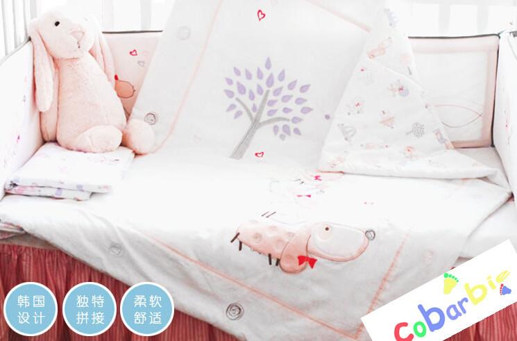 Baby bedding , 10 pcs crib sets,quilt bumper sheet pillow<br><br>Aliexpress