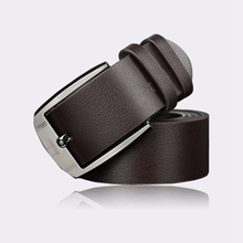 Buy designer belts men high mens belts luxury New Men Metal Buckle Leather Waistband Vintage Classic Pin Buckle Belts for $4.14 in AliExpress store