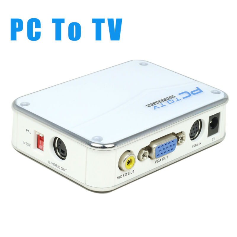 how to make av to vga converter
