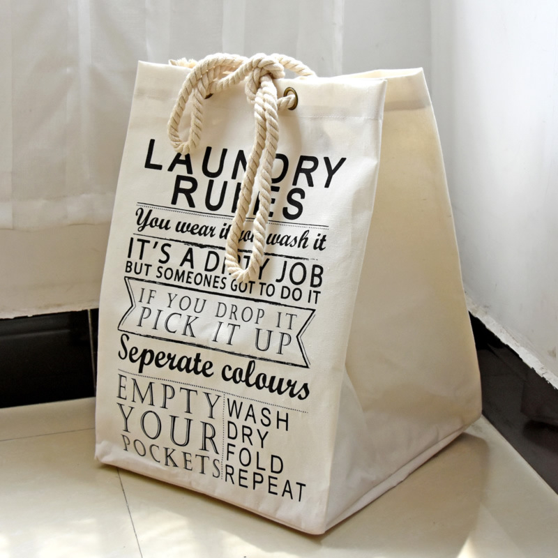 49*36.5*34cm Pure Color Sundries makeup organizer Clothing Square Bra Storage Container Cotton Linen Shopping Bag(China (Mainland))