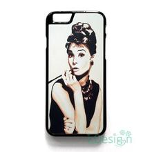 Fit for iPhone 4 4s 5 5s 5c se 6 6s 7 plus ipod touch 4/5/6 back skins cellphone case cover AUDREY HEPBURN BREAKFAST ANYONE
