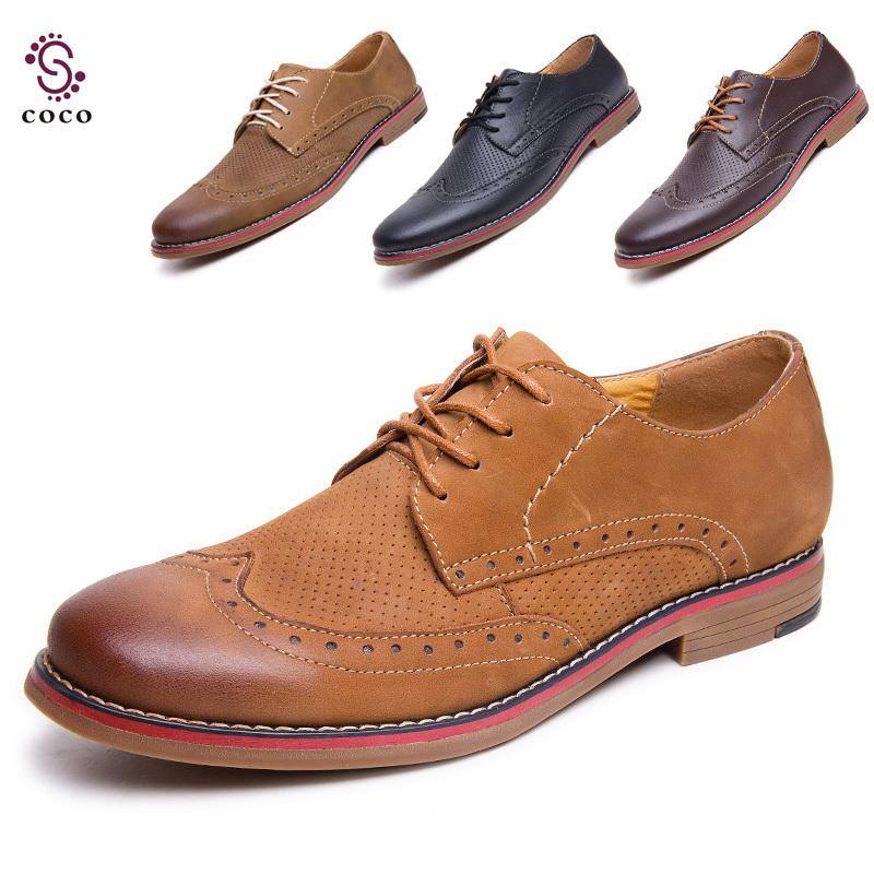 Redleather Mens Shoes