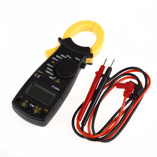 Pocket Clamp Meter : Dt l ac dc mini pocket handheld digital clamp meter