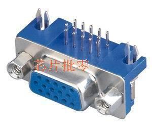 Free shipping 10PCS Desktop Board 3-row 15-pin VGA interface VGA VGA female connector head(China (Mainland))