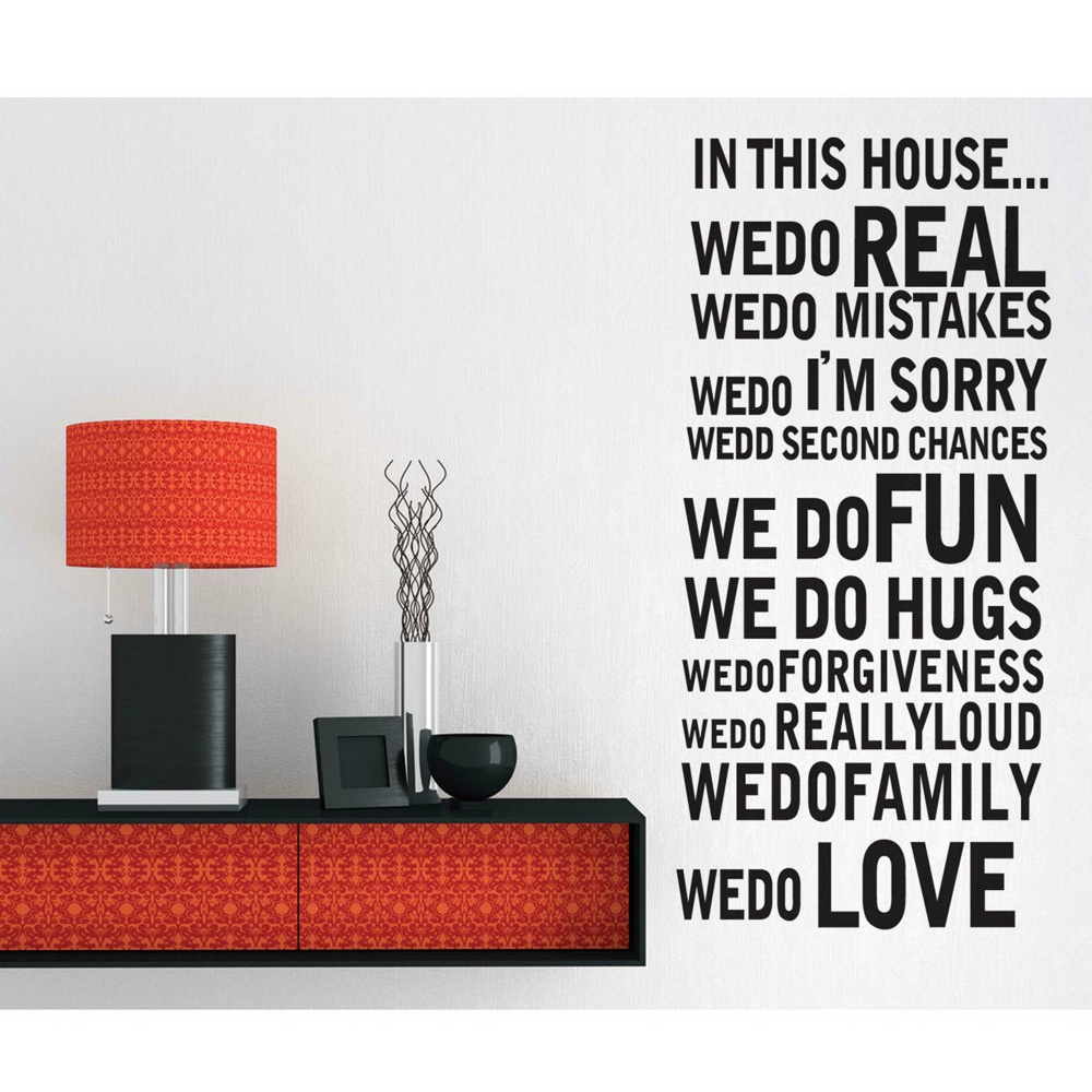 Inspirational quotes in this house family rules quotes 60 6 home decor rules to break now