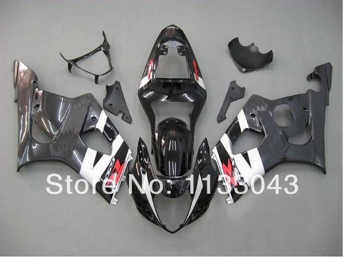 For SUZUKI GSX-R1000 K3 03 04 GSX R1000 K3 Black GSXR 1000 2003 2004 GSXR1000 Fairing Kit+7gifts(China (Mainland))