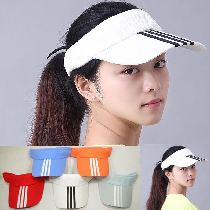 Hot! New Arrival 7 Colors Adjustable Unisex Women Men Summer Outdoor Sun Visor Hat Sport Golf Baseball Tennis Hat Cap Gift(China (Mainland))
