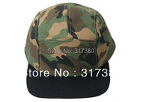 Wholesale 10pcs COOL Designer 5 Panel Blank Camouflage Men Women Snapback Hats Camo Caps Mens Camping Flat Bill Hat Baseball Cap