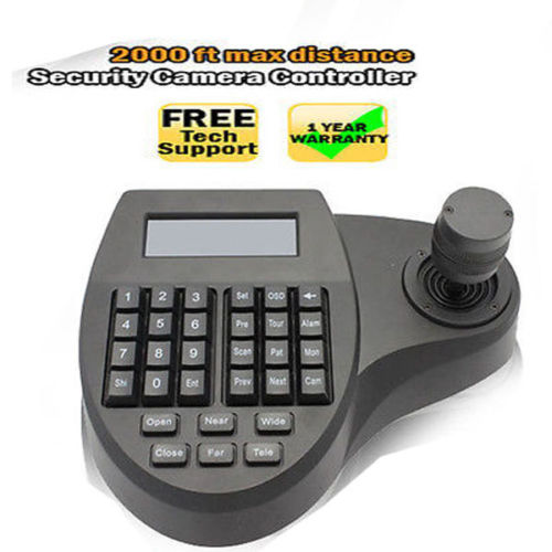 C1s 3D Keyboard Controller Speed Dome CCTV Camera with LCD PTZ 3 Axis Joystick(China (Mainland))
