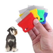 Lovely Small Fine Toothed Dense Comb Pet Dog Cat Clean Comb Grooming Tool Random Color