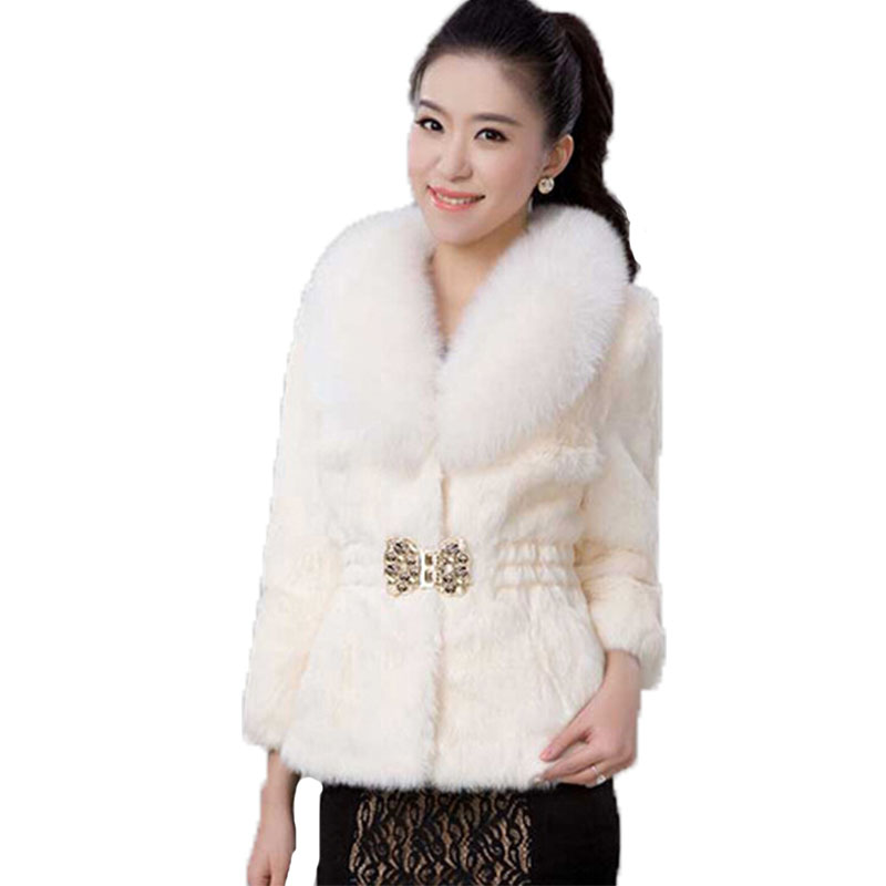 Women Faux Fur Coats Jackets Long Sleeve2015New Fashion Diamonds Women Faux Fur Coat Jacket Winter Fur Coat Female Fur Clothing Одежда и ак�е��уары<br><br><br>Aliexpress