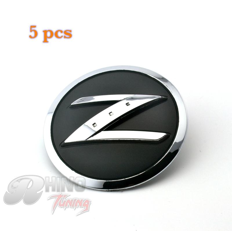 5PC Z Logo Decoration Car Front Grill Grille Emblem Sticker For Nissan Pathfinder Badge 187(China (Mainland))