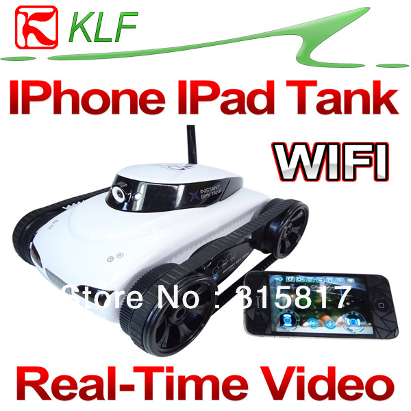 Wireless Wifi Control RC Instant Tank Video Camera App-Controlled Wireless wifi 4CH Channel  for iPad iPhone