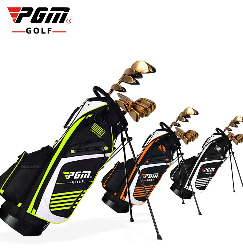 Фотография Production PGM New Product Golf Stand Men Bag Bracket Gun Package Exceed Light Portable Edition Support Golfbag Shoulder Straps