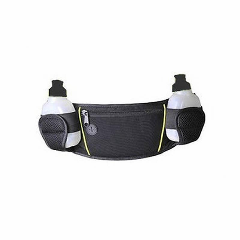 Outdoor Sports Hiking Camping Running bag Jogging Walking Hydration Belt Waist Pack Two Water w Bottles