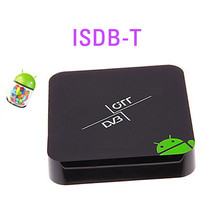 Android tv box ISDB-T receiver for Brazil and South America,smart tv iptv Top Set ISDB T, XBMC Media Player,Dual core Aml8726-MX