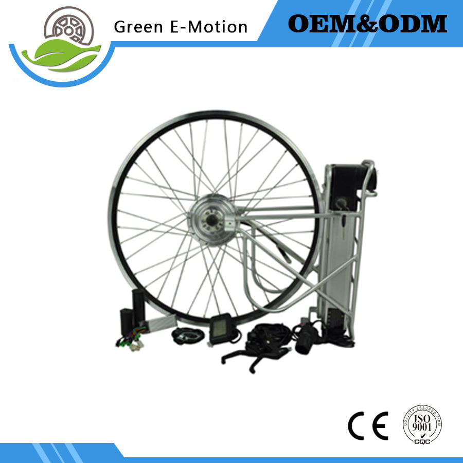 Ebike kit electric bicycle bike conversion kit 36V 250w electric wheel motor spokes motor with bottle battery LED LCD display(China (Mainland))