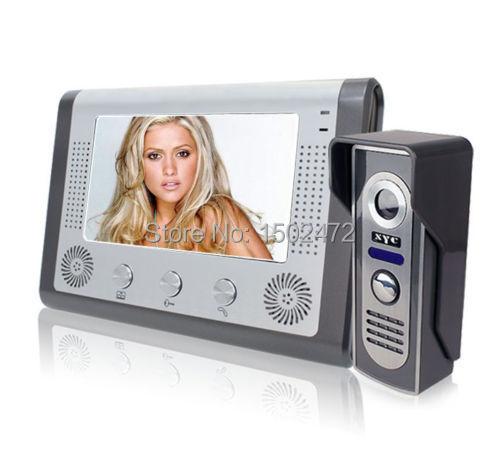 7  Wired Door Camera Color LCD Video Camera Door Phone Visible Doorbell Night Vision <br><br>Aliexpress