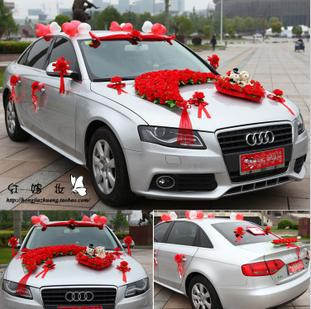 2013 Latest Wedding Car Packages Artificial Flowers Decoration In Decorative Flowers Amp Wreaths