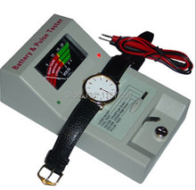Free shipping Latest Watch Battery Tool  Quartz Movement  and Battery Tester(China (Mainland))